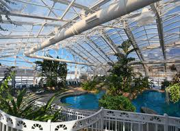 Tropical Biosphere Pool at the Grand Cascades Lodge in Northern New Jersey