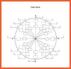 Blank Unit Circle Blank Unit Circle Chart Free Download 9 10