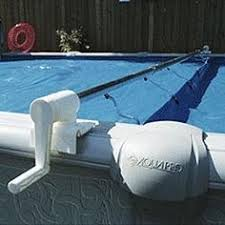 above ground pool covers. Feherguard Surface Rider Above Ground Solar Cover Reel - Reels For Pools Pool Covers
