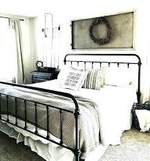 farmhouse bedding set sets rustic bedroom decor amazing best black iron beds ideas on throughout quilt