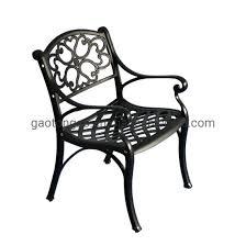 garden dining table metal patio furniture