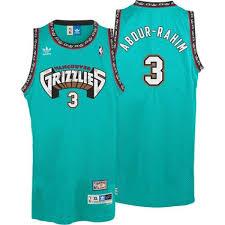 Grizzlies Hardwood Jersey Throwback Green Adidas Men's Tall Big Abdur-rahim Shareef Classics Swingman Memphis amp;