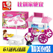Get Quotations · Small luban building blocks assembled girl tong yizhi toys for girls under the age of 3 China Girl Style Age, Age Shopping Guide at Alibaba.com