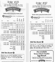 Burgerville Offers Personalized Calorie Counts On Receipts You Want T