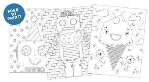These coloring pages are also. 8 Free Kids Coloring Pages Design Eat Repeat