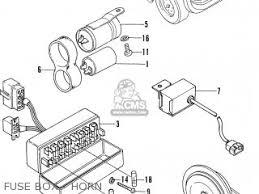 38200634622 box assy fuse civic 1200 eb1 1973 3d mt w mt kq kp 38200634622 box assy fuse photo