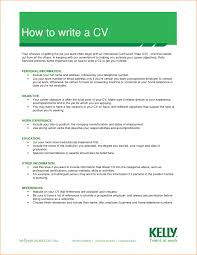 How Write Resume To Australia Template For The First Time With No