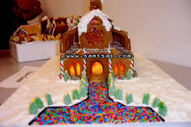 creative gingerbread houses. Delighful Creative Creative Gingerbread House Ideas Notre Dame Church Design With Candle  Lights  SAMTSAICOM Throughout Houses