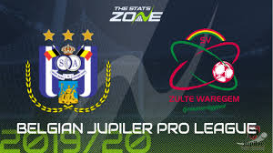 2019-20 Belgian Jupiler Pro League – Anderlecht vs Zulte Waregem Preview &  Prediction - The Stats Zone