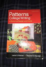 Patterns For College Writing Beauteous Patterns For College Writing 48th Edition For Sale In San Diego CA