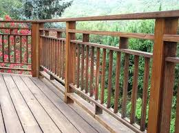 wood deck railing deck railing plans wood deck railing details