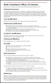 sample of banking resume bank compliance officer sample sample resume  retail banking operations