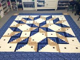 Log Cabin Quilts – co-nnect.me & ... A Log Cabin Quilting Pattern Completed In A Tumbling Block Pattern  Called The Log Cabin Carpenter ... Adamdwight.com