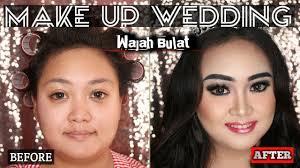 make up untuk wanita gemuk gendut wajah bulat