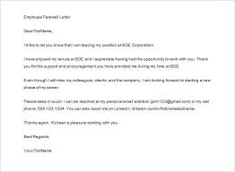 Brilliant Ideas Of Thank You Letter To Employee After Resignation