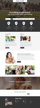 Website Design 55099 Dog Club Animal Custom Website Design Dog Club