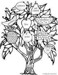 Small Picture You Will Bear Fruit Coloring Page Crafting The Word Of God
