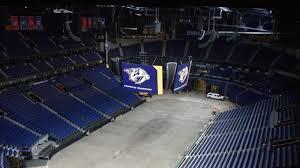 Bridgestone Arena 3d Concert Seating Chart New Scoreboard To Make Experience At Preds Games Bigger
