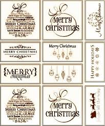Cut files for electronic cutting machines. Rustic Christmas Gift Tags And Labels Free Printable Holiday Gift Tags Printable Free Christmas Tags Printable Christmas Gift Tags Printable
