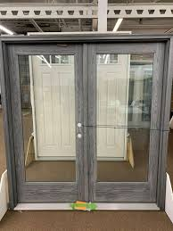 details about therma tru fiber classic oak fiberglass stained smoke entry door new