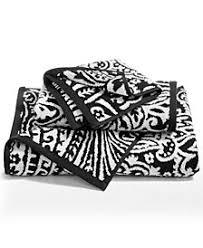black and white bath towels. Charter Club Elite Cotton Fashion Paisley Bath Towel, Created For Macy\u0027s Black And White Towels L