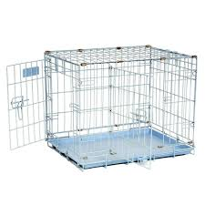 Light Blue Dog Crate Precision Pet Provalu By Great Crate Two Door Special Edition Baby Blue