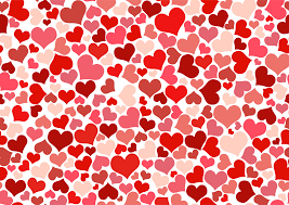 Clipart Hearts Background