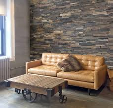 decorative reclaimed wood living room backdrop