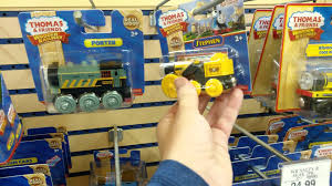 in the thomas wooden railway isle in toys r us