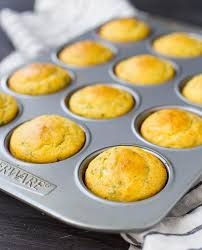 Cornbread Muffin Recipe With Herbs And Cheddar Rachel Cooks