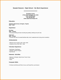 Resume Sample Awesome Sample Resume For Recent College Graduate