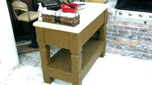 full size of outdoor prep table with storage home depot cover station food sink newest beautiful