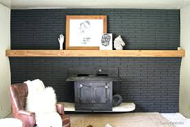 how to build a mantel over brick fireplace easy wood