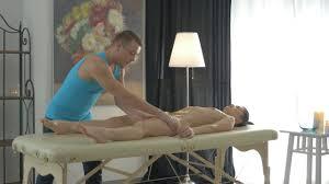 Lena Paul Danny D Touching Lena Dirty Masseur massage.