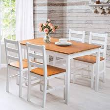 life carver dining table and chairs set 5 solid pine large size 118 75 5 73 cm kitchen furniture honey white