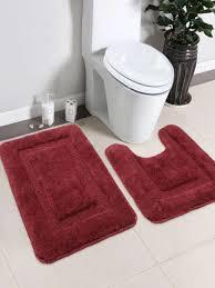 saral home set of bath rug