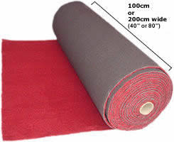 carpet roll. TCN/25 Automotive Carpet, Available In Black, Red, Brown, Beige, Carpet Roll