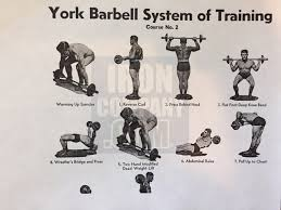 york barbell weight. york barbell system of training course 2 weight i