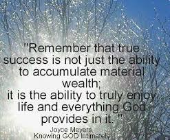 Success Christian Quotes Best Of True Success