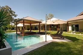 pool patio decorating ideas. Amazing Cantilever Umbrella 13\u0027 Decorating Ideas Gallery In Pool Modern Design Patio C