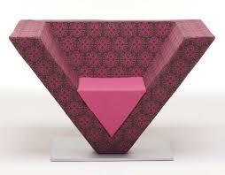 Karim Rashid Furniture Wood Furniturebiz Pyramid Chair By Karim Rashid