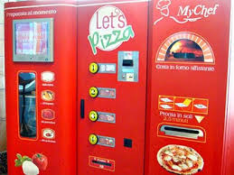Pizza Vending Machine Gorgeous Coming To America Pizza Vending Machines Nutrition EXOS Daily
