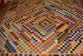 Trip Around The World Quilt Pattern Custom Scrappy Trips Pf