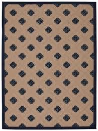nourison aloha navy indoor outdoor area rug 5 3