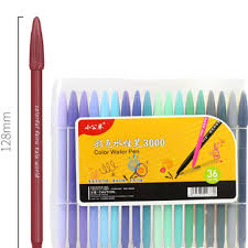 <b>36</b> color <b>gel pens</b> hand account hook line pen stationery office ...