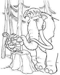 Bluebonkers home › kids activities › kids coloring pages. Kids Drawing Ice Age Coloring Pages Bulk Color