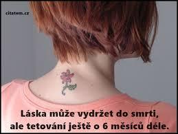 Tetování Citátemcz