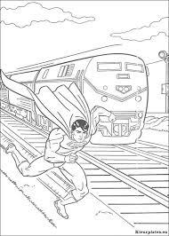 Superman Kleurplaat 113660 Kleurplaat
