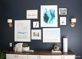guest room gallery wall thanks minted