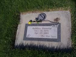 Ashley Henrie (1979-2001) - Find A Grave Memorial